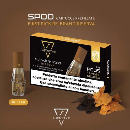 Coil Pod Sikary SPOD MINI Supreme First Pick Nicotina 12 mg/ml
