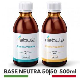 Base neutra Glicole Propilenico + Glicerina Vegetale basi neutre per sigaretta elettronica