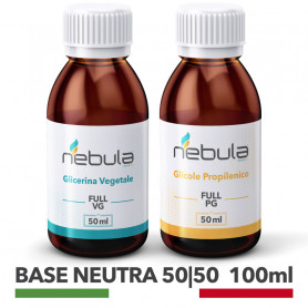 NEBULA KIT BASE NEUTRA 100 ML - 50ml VG + 50ml PG