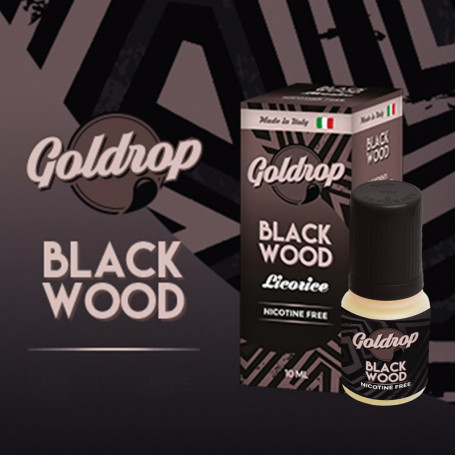 Goldrop BLACK WOOD by VaporArt 10ml Liquido Pronto