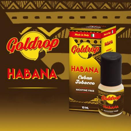 Goldrop HABANA by VaporArt 10ml Liquido Pronto