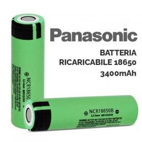 Batteria Panasonic NCR18650B Ricaricabile 1x