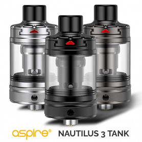 ASPIRE Nautilus 3 Tank - 4ml, 1.8 / 0.7 Ohm