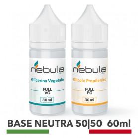 NEBULA KIT BASE NEUTRA 60 ML - 30ml VG + 30ml PG