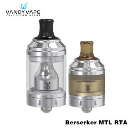VandyVape Berserker MTL RTA Atomizzatore Clearomizer