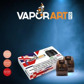 VaporArt - Pod Per Minifit - British Tobacco - Nicotina 4mg 8mg 14mg