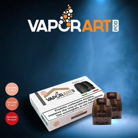 VaporArt - Pod Per Minifit - Tobacco Gold - Nicotina 4mg 8mg 14mg