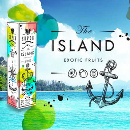 SUPER FLAVOR - THE ISLAND mix&vape 50ml